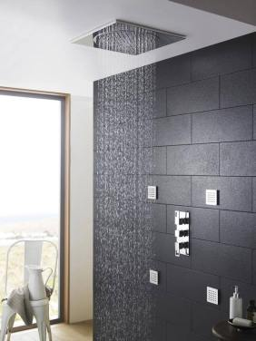 Ceiling Tile Fixed Shower Head